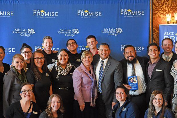 Group photo at the Utah State Capitol