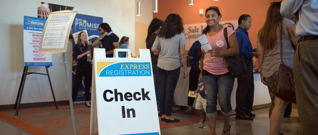 Express registration at West Valley Center