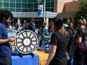 Spin the wheel at the Resource Fair