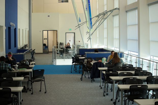 Dumke STEM Center study area