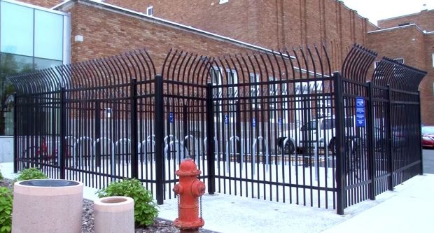 South City Campus bike cage