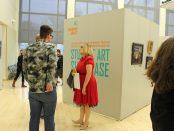 Student Art Showcase visitors