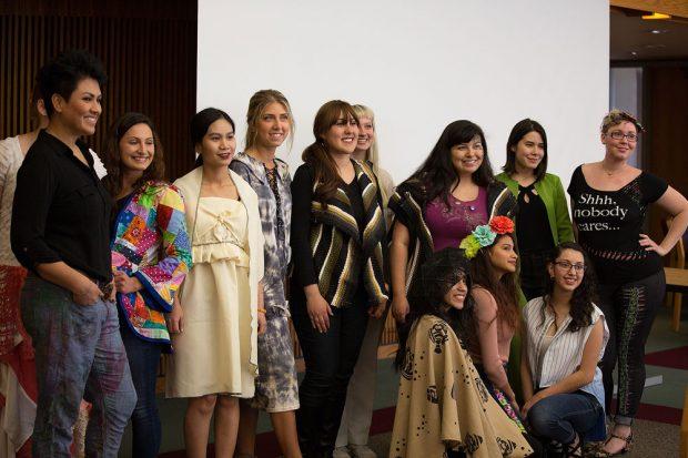 Sustainable Fashion Show models
