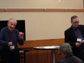 Joseph Batzel, left, and Steve Odenthal