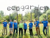 Day of Service ecogarden project
