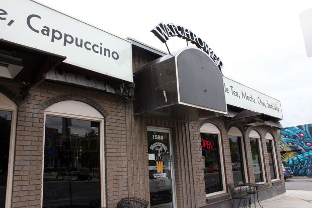 Watchtower Cafe storefront
