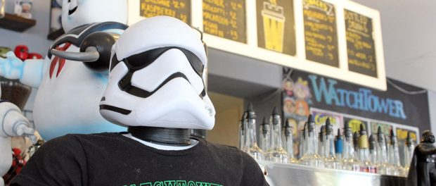 Watchtower cafe Storm Trooper