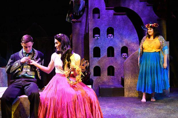 """Scene from Act 2 of """"Perdida"""""""