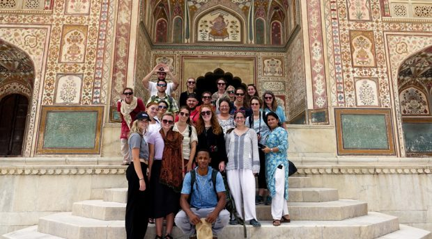 Study abroad trip to India