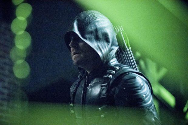 Stephen Amell as Arrow