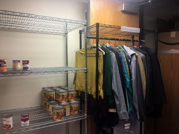 Used clothing at Bruin Cupboard