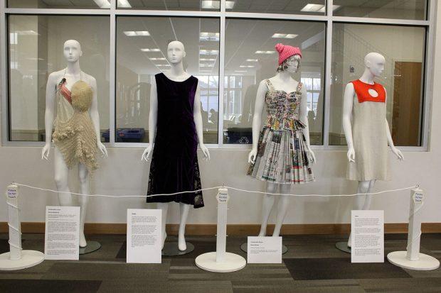 """Dressed to Protest"" exhibit"