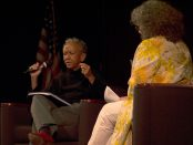 Nikki Giovanni and Lisa Bickmore