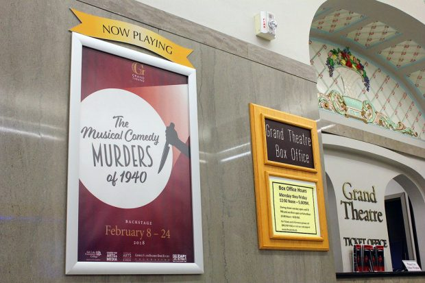 """""""The Musical Comedy Murders of 1940"""" poster"""