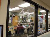 Thayne Center window