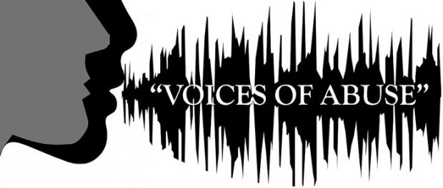 Voices of Abuse discussion panel flyer