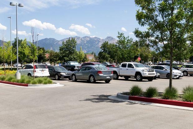 South City Campus parking lot