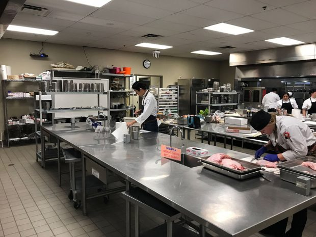 Culinary Institute kitchen