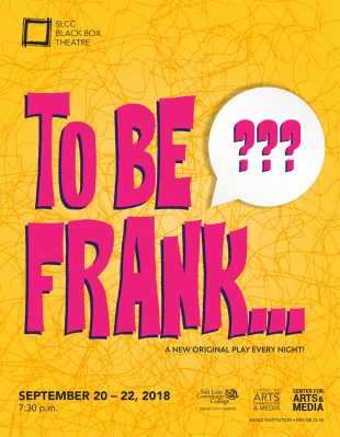 To Be Frank... poster