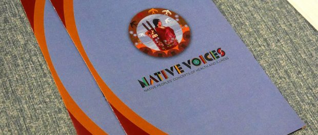 """Native Voices"" pamphlet"