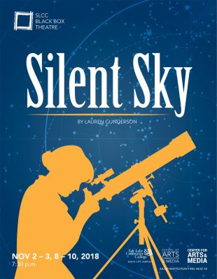 """""""Silent Sky"""" graphic"""