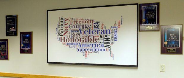 Veterans Center awards