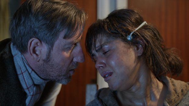 Michael Smiley and Lenora Crichlow in Black Mirror