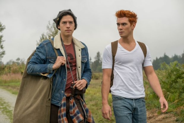 Cole Sprouse and K.J. Apa in Riverdale
