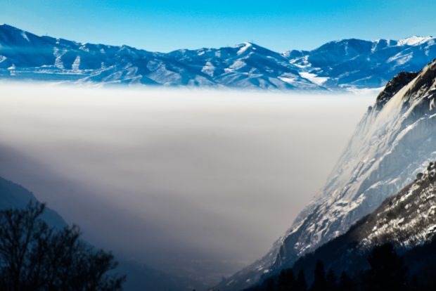 Inversion in Salt Lake Valley