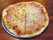 Rusted Sun cheese pizza