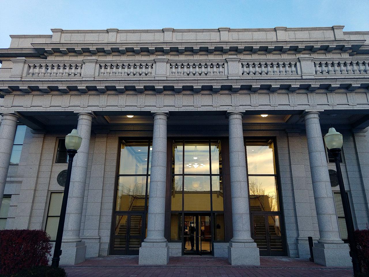 Utah State Capitol wing