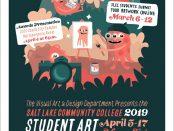 2019 Student Art Showcase poster