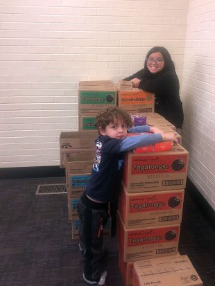 Melody Hernandez and her younger brother, Kingston