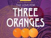 """The Love for Three Oranges"" poster"