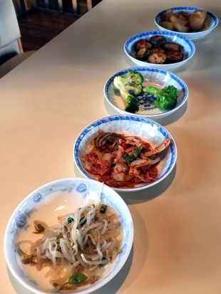 Myung Ga side dishes