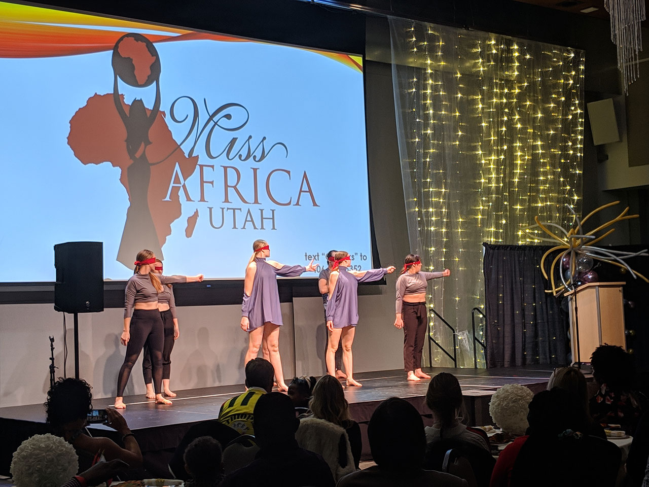 SLCC Dance Company at Miss Africa Utah pageant