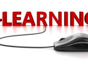 Mouse connected to e-Learning