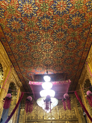 Inside the prayer room