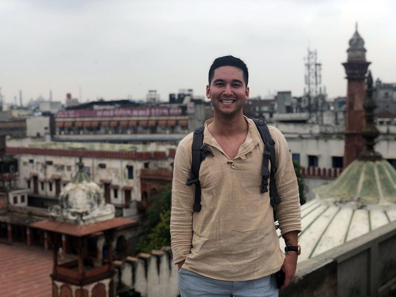Noah Lewis in India