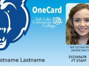 Updated OneCard design with blue background