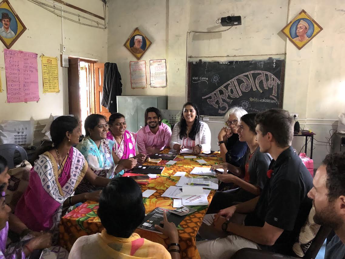 Meeting with Gulumb women