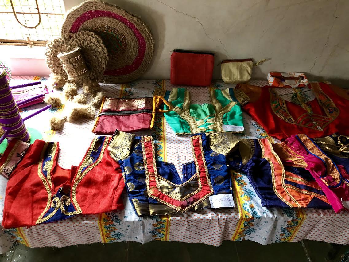 Gulumb women's goods on display
