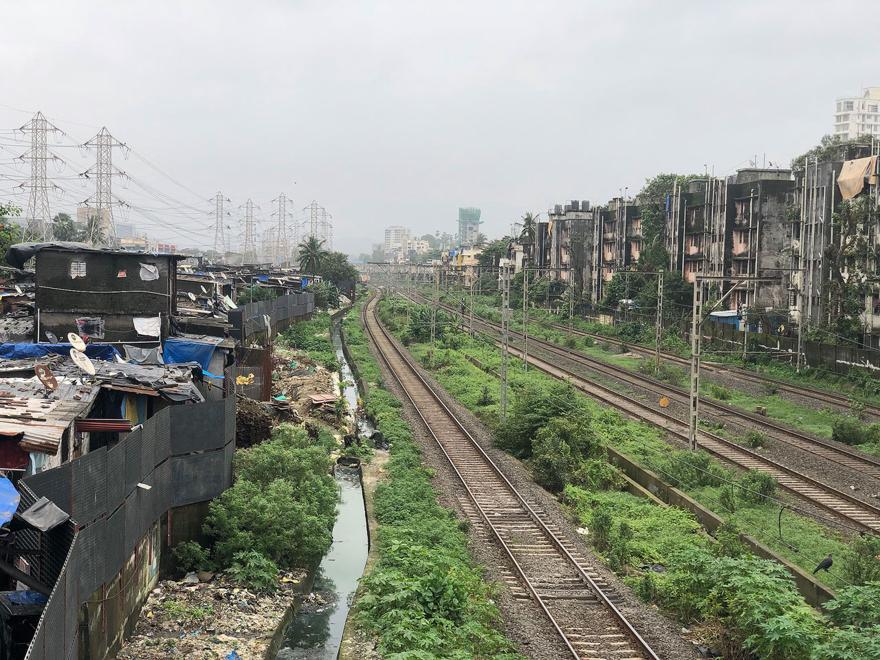 Other side of the tracks