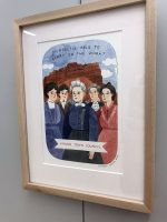 Painting of Kanab Town Council