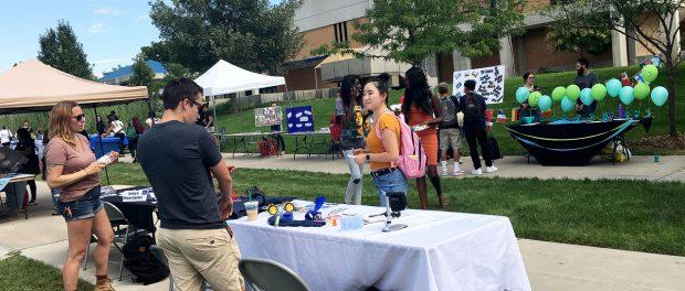 Community Engagement Fair at Redwood Campus