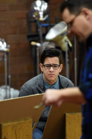 Gabe Moreno in focus