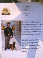 Tribute card for K9 Apollo