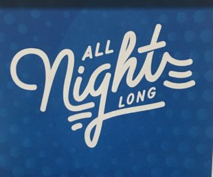 """Graphic for """"All Night Long"""" event"""