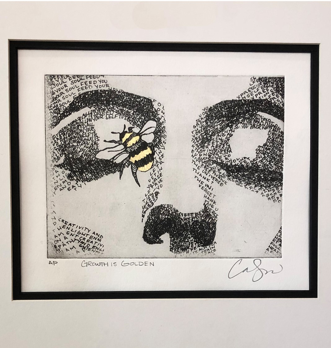 """""""Growth is Golden"""" print by Carlissa Shaw"""