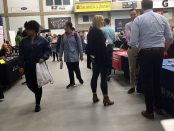 SLCC students attend the fall job fair